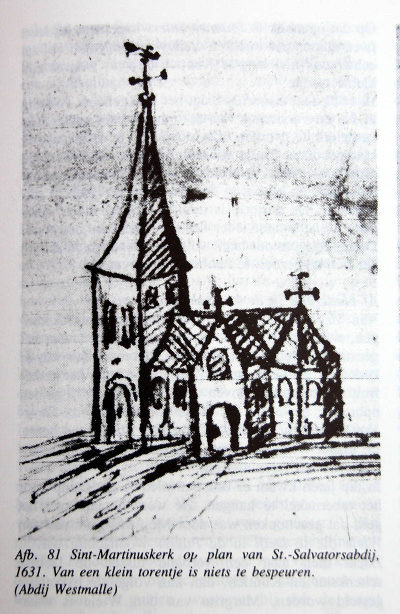 Sint-Martinuskerk in 1631.jpg